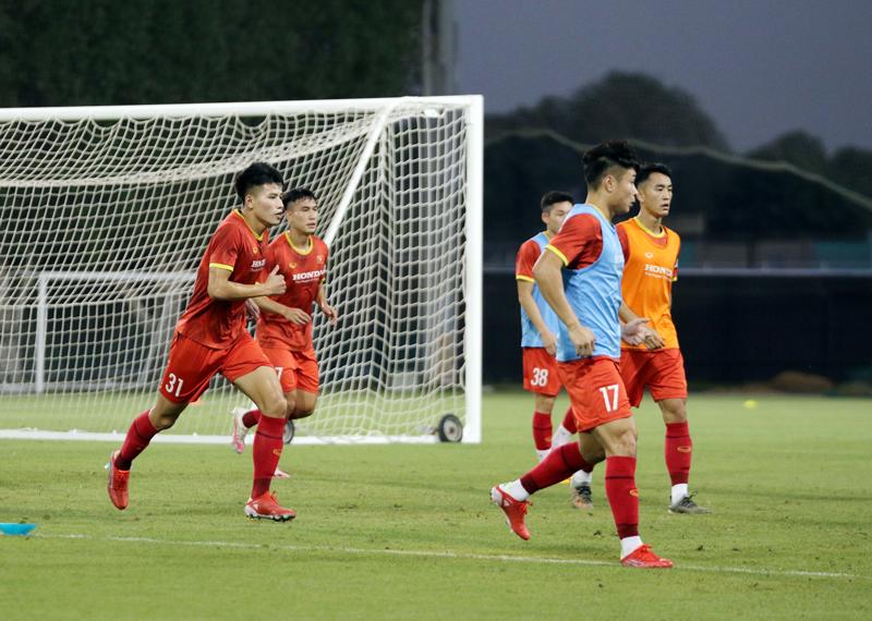 U23 Việt Nam dốc sức tập luyện tại UAE, hướng tới vòng loại U23 châu Á 2022 -0