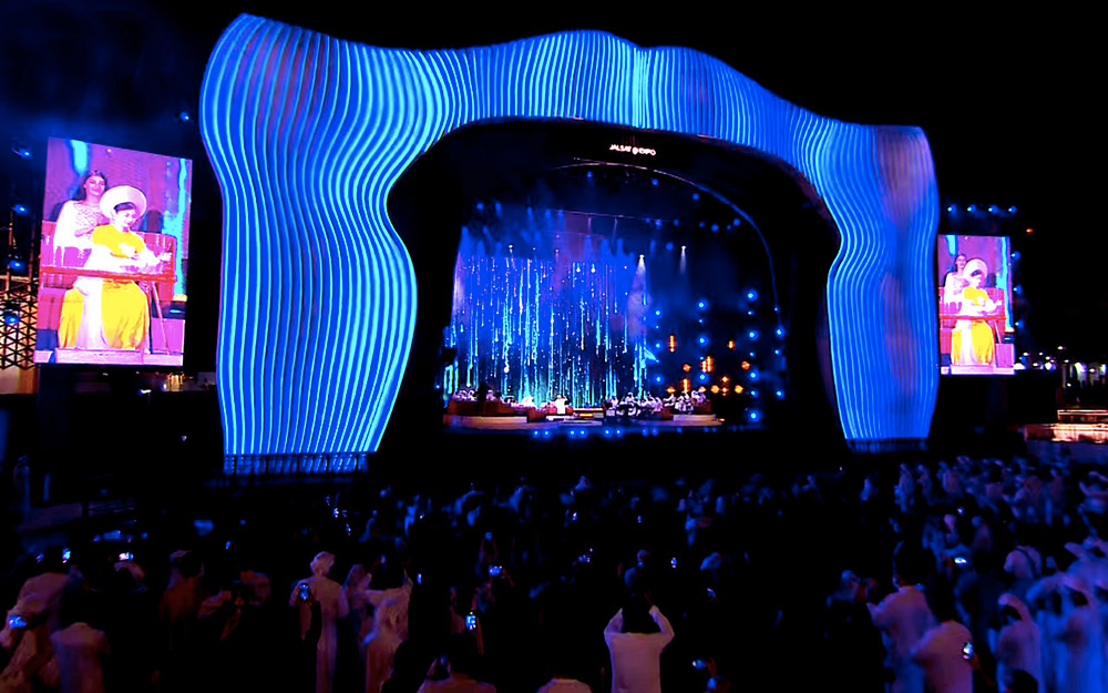 Lần đầu hòa tấu đàn bầu Việt Nam trên sân khấu âm nhạc truyền thống Trung Đông -0