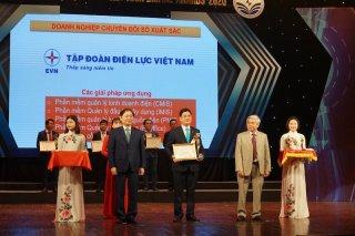 Trao giải thưởng Doanh nghiệp chuyển đổi số xuất sắc Việt Nam 2020