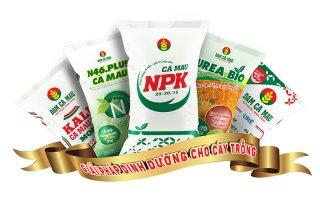 Bộ sản phẩm của Đạm Cà Mau lần thứ tư liên tiếp được công nhận thương hiệu quốc gia