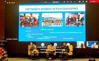 Tăng cường vai trò của phụ nữ đối với hòa bình và an ninh