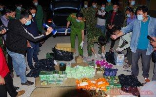 Triệt phá vụ vận chuyển gần 90 kg ma túy