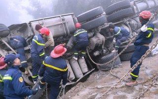 Tai nạn trên đường tránh thị xã Sa Pa, lái xe tử vong