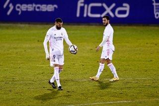 Thua đội yếu, Real bị loại khỏi Cúp Nhà vua Tây Ban Nha