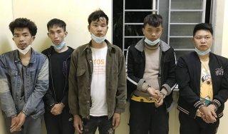 Bắt giữ năm người nước ngoài nhập cảnh trái phép