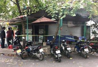 Cháy quán cà-phê ở Hà Nội, một người chết