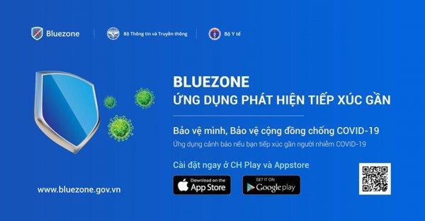 Cài ứng dụng Bluezone để giảm tải cho tuyến đầu chống dịch - Báo Nhân Dân