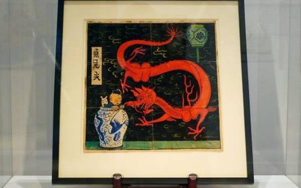 Sau nhiều năm được cất giữ, bức tranh Tintin đã được bán với giá 3,2 triệu Euro