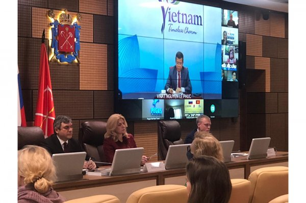 Saint Petersburg tổ chức diễn đàn thúc đẩy du lịch với Việt Nam