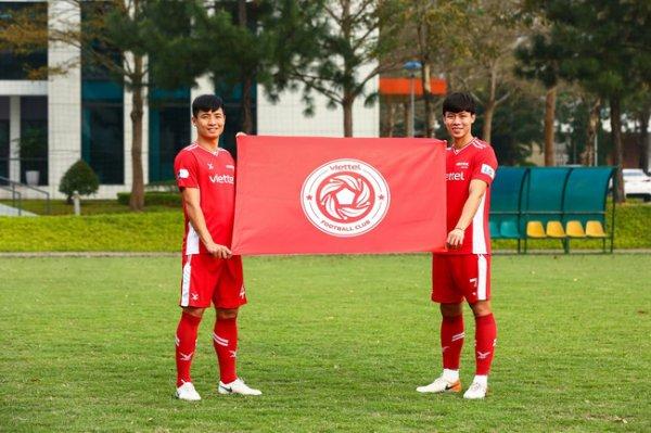 Đương kim vô địch V-League Viettel ra mắt logo mới của đội
