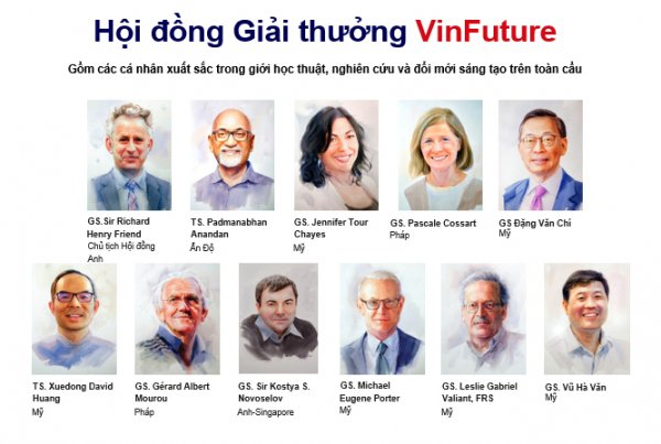 Giới khoa học từ 60 quốc gia, sáu châu lục tranh giải nghiên cứu quốc tế VinFuture