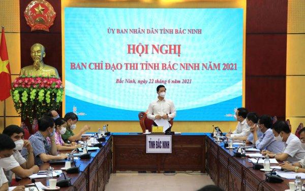 Bắc Ninh bảo đảm an toàn phòng, chống dịch trong kỳ thi tốt nghiệp trung học phổ thông